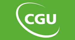 CGU logo - Arrow Caravans