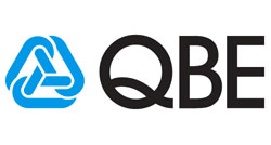 QBE logo - Arrow Caravans