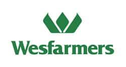 Wesfarmers logo - Arrow Caravans